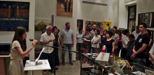 [:en]Presentation of the Artists[:he]מורן מציגה את האמנים