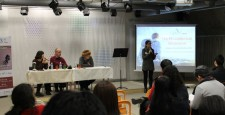 "[:en]Ilanit Hadar, from New Acropolis Korea, presenting the event[:he]אילנית אדר, מ""אקרופוליס חדשה"" דרום-קוריאה, פותחת את הארוע"